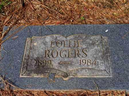 ROGERS, LOLLIE - Lafayette County, Arkansas | LOLLIE ROGERS - Arkansas Gravestone Photos