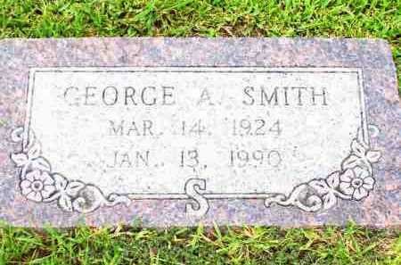 SMITH, GEORGE A - Lafayette County, Arkansas | GEORGE A SMITH - Arkansas Gravestone Photos