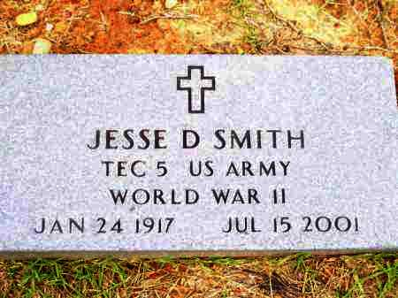 SMITH (VETERAN WWII), JESSE DALTON - Lafayette County, Arkansas | JESSE DALTON SMITH (VETERAN WWII) - Arkansas Gravestone Photos