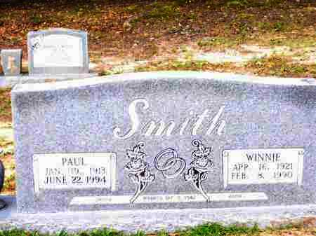 SMITH, WINNIE IDELL - Lafayette County, Arkansas | WINNIE IDELL SMITH - Arkansas Gravestone Photos