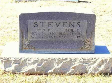 STEVENS, JOHN D. - Lafayette County, Arkansas | JOHN D. STEVENS - Arkansas Gravestone Photos
