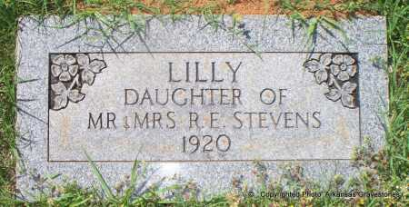 STEVENS, LILLY - Lafayette County, Arkansas | LILLY STEVENS - Arkansas Gravestone Photos