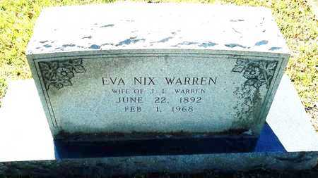 WARREN, EVA - Lafayette County, Arkansas | EVA WARREN - Arkansas Gravestone Photos