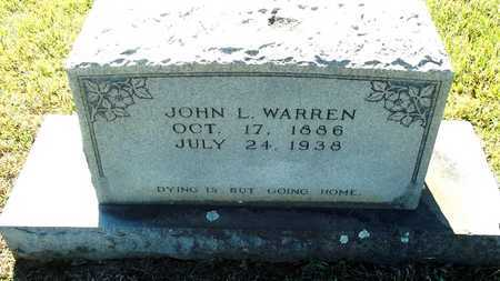 WARREN, JOHN L. - Lafayette County, Arkansas | JOHN L. WARREN - Arkansas Gravestone Photos