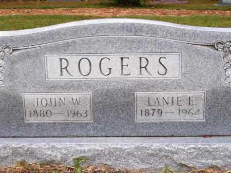 ROGERS, JOHN W. - Lafayette County, Arkansas | JOHN W. ROGERS - Arkansas Gravestone Photos