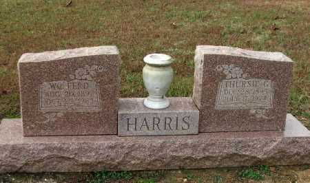 "HARRIS, THURSIA GENEVA ""THURSIE"" - Lawrence County, Arkansas 