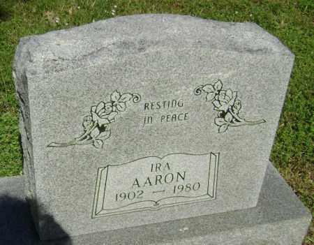 AARON, IRA JACK - Lawrence County, Arkansas   IRA JACK AARON - Arkansas Gravestone Photos