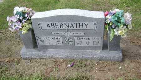 ABERNATHY, EDWARD - Lawrence County, Arkansas | EDWARD ABERNATHY - Arkansas Gravestone Photos