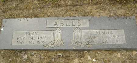 BLACKWELL ABLES, ALMITA MARTHA - Lawrence County, Arkansas | ALMITA MARTHA BLACKWELL ABLES - Arkansas Gravestone Photos