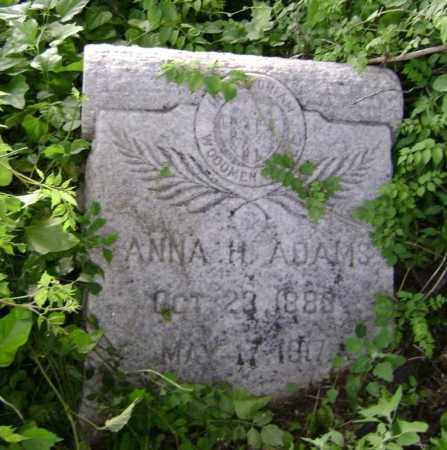 ADAMS, ANNA H. - Lawrence County, Arkansas | ANNA H. ADAMS - Arkansas Gravestone Photos