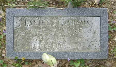 ADAMS, DANIEL EL - Lawrence County, Arkansas | DANIEL EL ADAMS - Arkansas Gravestone Photos
