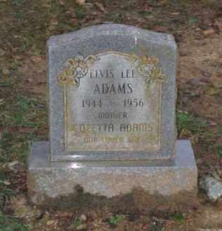 ADAMS, ELVIS LEE - Lawrence County, Arkansas | ELVIS LEE ADAMS - Arkansas Gravestone Photos