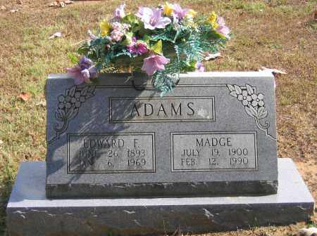 ADAMS, EDWARD FRANKLIN - Lawrence County, Arkansas | EDWARD FRANKLIN ADAMS - Arkansas Gravestone Photos