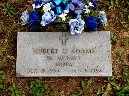 ADAMS (VETERAN KOR), HUBERT G - Lawrence County, Arkansas | HUBERT G ADAMS (VETERAN KOR) - Arkansas Gravestone Photos