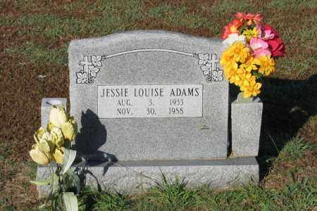 ADAMS, JESSIE LOUISE - Lawrence County, Arkansas | JESSIE LOUISE ADAMS - Arkansas Gravestone Photos