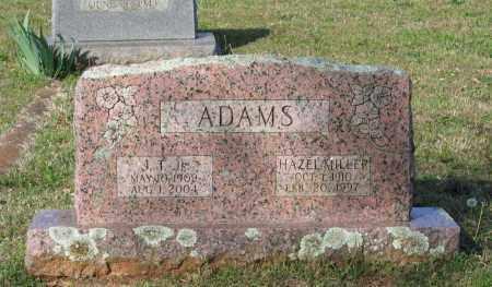 MILLER ADAMS, HAZEL MARIE - Lawrence County, Arkansas | HAZEL MARIE MILLER ADAMS - Arkansas Gravestone Photos
