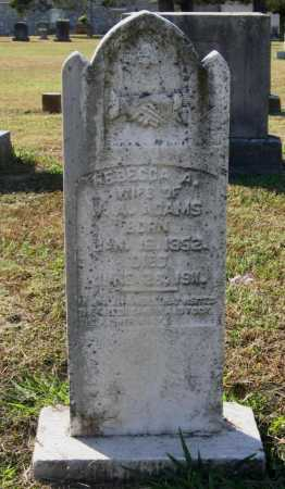 WELLS ADAMS, REBECCA A. - Lawrence County, Arkansas | REBECCA A. WELLS ADAMS - Arkansas Gravestone Photos