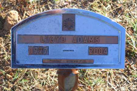 ADAMS (VETERAN), LLOYD CHARLES - Lawrence County, Arkansas | LLOYD CHARLES ADAMS (VETERAN) - Arkansas Gravestone Photos