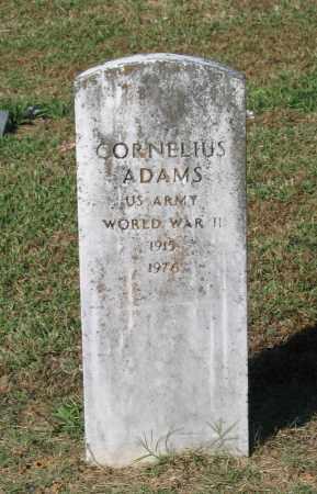ADAMS (VETERAN WWII), CORNELIUS - Lawrence County, Arkansas | CORNELIUS ADAMS (VETERAN WWII) - Arkansas Gravestone Photos
