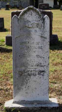 "ADAMS, WILLIAM A. ""BUCK"" - Lawrence County, Arkansas 