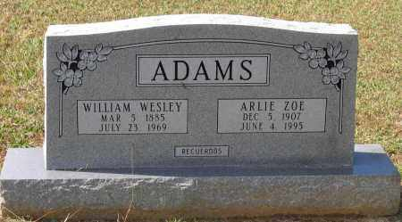 ADAMS, WILLIAM WESLEY - Lawrence County, Arkansas | WILLIAM WESLEY ADAMS - Arkansas Gravestone Photos
