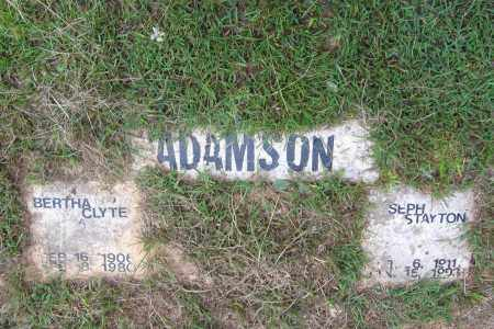 BENCH ADAMSON, BERTHA CLYTE - Lawrence County, Arkansas | BERTHA CLYTE BENCH ADAMSON - Arkansas Gravestone Photos