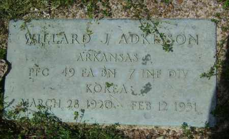 ADKISSON (VETERAN KOR KIA), WILLARD J - Lawrence County, Arkansas | WILLARD J ADKISSON (VETERAN KOR KIA) - Arkansas Gravestone Photos