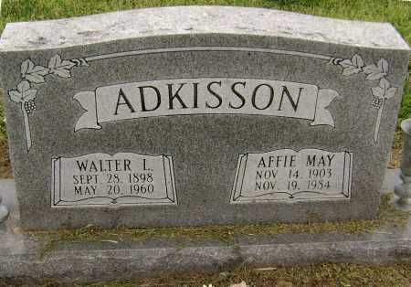 ADKISSON, WALTER L. - Lawrence County, Arkansas | WALTER L. ADKISSON - Arkansas Gravestone Photos