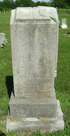 AGEE, WILLIAM H. - Lawrence County, Arkansas   WILLIAM H. AGEE - Arkansas Gravestone Photos