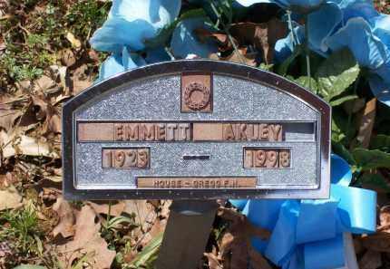 AKLEY (VETERAN WWII), EMMETT - Lawrence County, Arkansas   EMMETT AKLEY (VETERAN WWII) - Arkansas Gravestone Photos