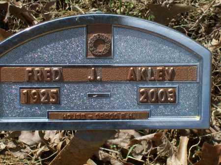 AKLEY (VETERAN WWII), FRED JAMES HENRY - Lawrence County, Arkansas   FRED JAMES HENRY AKLEY (VETERAN WWII) - Arkansas Gravestone Photos