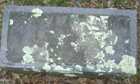 ALEXANDER, BETTIE A. - Lawrence County, Arkansas | BETTIE A. ALEXANDER - Arkansas Gravestone Photos