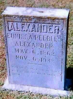 ALEXANDER, EUNISSA - Lawrence County, Arkansas | EUNISSA ALEXANDER - Arkansas Gravestone Photos