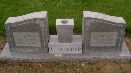 ALEXANDER, ELZIE - Lawrence County, Arkansas | ELZIE ALEXANDER - Arkansas Gravestone Photos