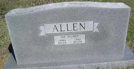 ALLEN, CHILDREN - Lawrence County, Arkansas | CHILDREN ALLEN - Arkansas Gravestone Photos