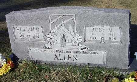 ALLEN, RUBY LUCILLE - Lawrence County, Arkansas | RUBY LUCILLE ALLEN - Arkansas Gravestone Photos