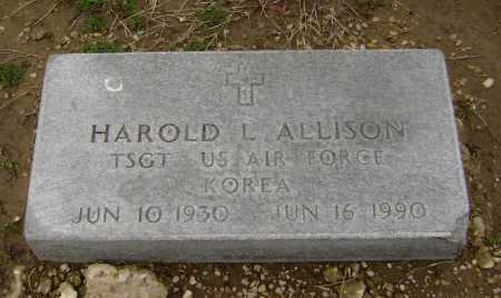 ALLISON  (VETERAN KOR), HAROLD L - Lawrence County, Arkansas | HAROLD L ALLISON  (VETERAN KOR) - Arkansas Gravestone Photos