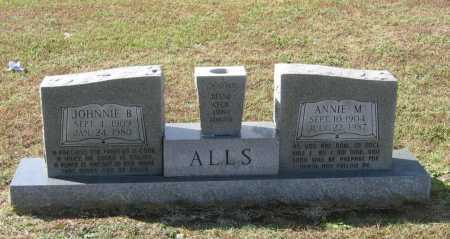 NORMAN ALLS, ANNIE MAE - Lawrence County, Arkansas | ANNIE MAE NORMAN ALLS - Arkansas Gravestone Photos