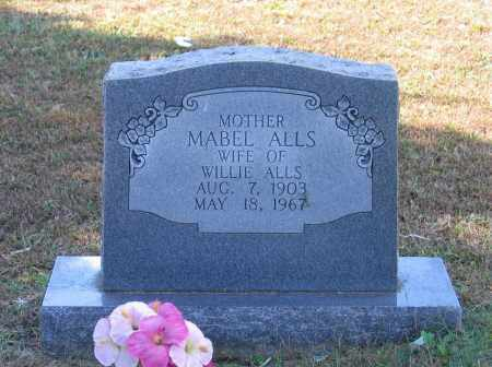 RATHER ALLS, MABEL - Lawrence County, Arkansas | MABEL RATHER ALLS - Arkansas Gravestone Photos