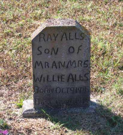 ALLS, RAY - Lawrence County, Arkansas | RAY ALLS - Arkansas Gravestone Photos