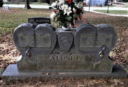 RICHMOND ALLSUP, WENONA A. - Lawrence County, Arkansas | WENONA A. RICHMOND ALLSUP - Arkansas Gravestone Photos