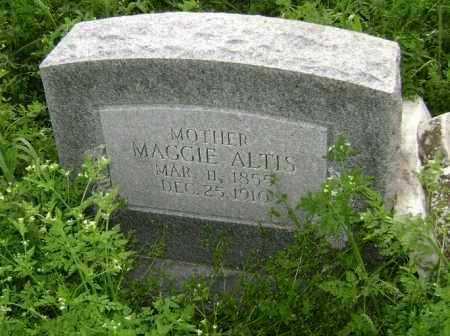 ALTIS, MAGGIE - Lawrence County, Arkansas | MAGGIE ALTIS - Arkansas Gravestone Photos