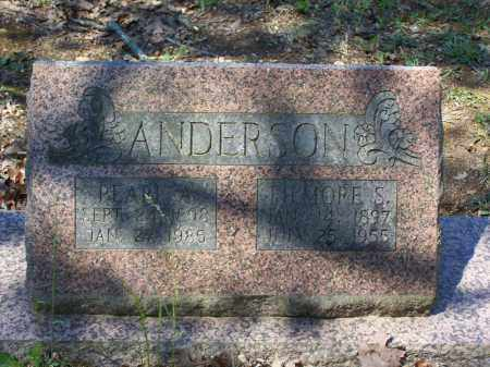 RICE ANDERSON, AMANDA PEARL - Lawrence County, Arkansas | AMANDA PEARL RICE ANDERSON - Arkansas Gravestone Photos