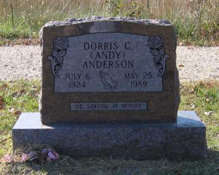 "ANDERSON, DORRIS C. ""ANDY"" - Lawrence County, Arkansas 