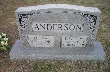 ANDERSON, DAVID WESLEY - Lawrence County, Arkansas | DAVID WESLEY ANDERSON - Arkansas Gravestone Photos