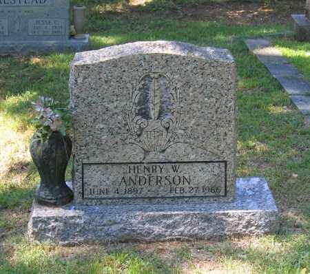 ANDERSON, HENRY WILLIAM - Lawrence County, Arkansas | HENRY WILLIAM ANDERSON - Arkansas Gravestone Photos