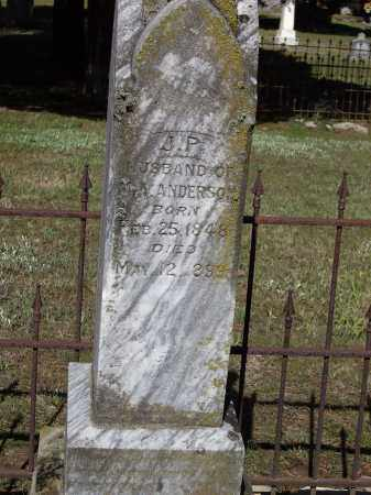 ANDERSON, J. P. - Lawrence County, Arkansas | J. P. ANDERSON - Arkansas Gravestone Photos