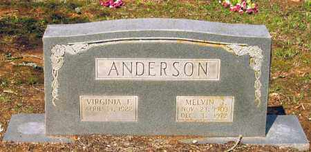 ANDERSON, MELVIN J. - Lawrence County, Arkansas | MELVIN J. ANDERSON - Arkansas Gravestone Photos