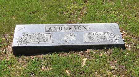ANDERSON, MILLARD M. - Lawrence County, Arkansas | MILLARD M. ANDERSON - Arkansas Gravestone Photos