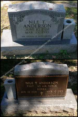 ANDERSON, NILE T. - Lawrence County, Arkansas | NILE T. ANDERSON - Arkansas Gravestone Photos